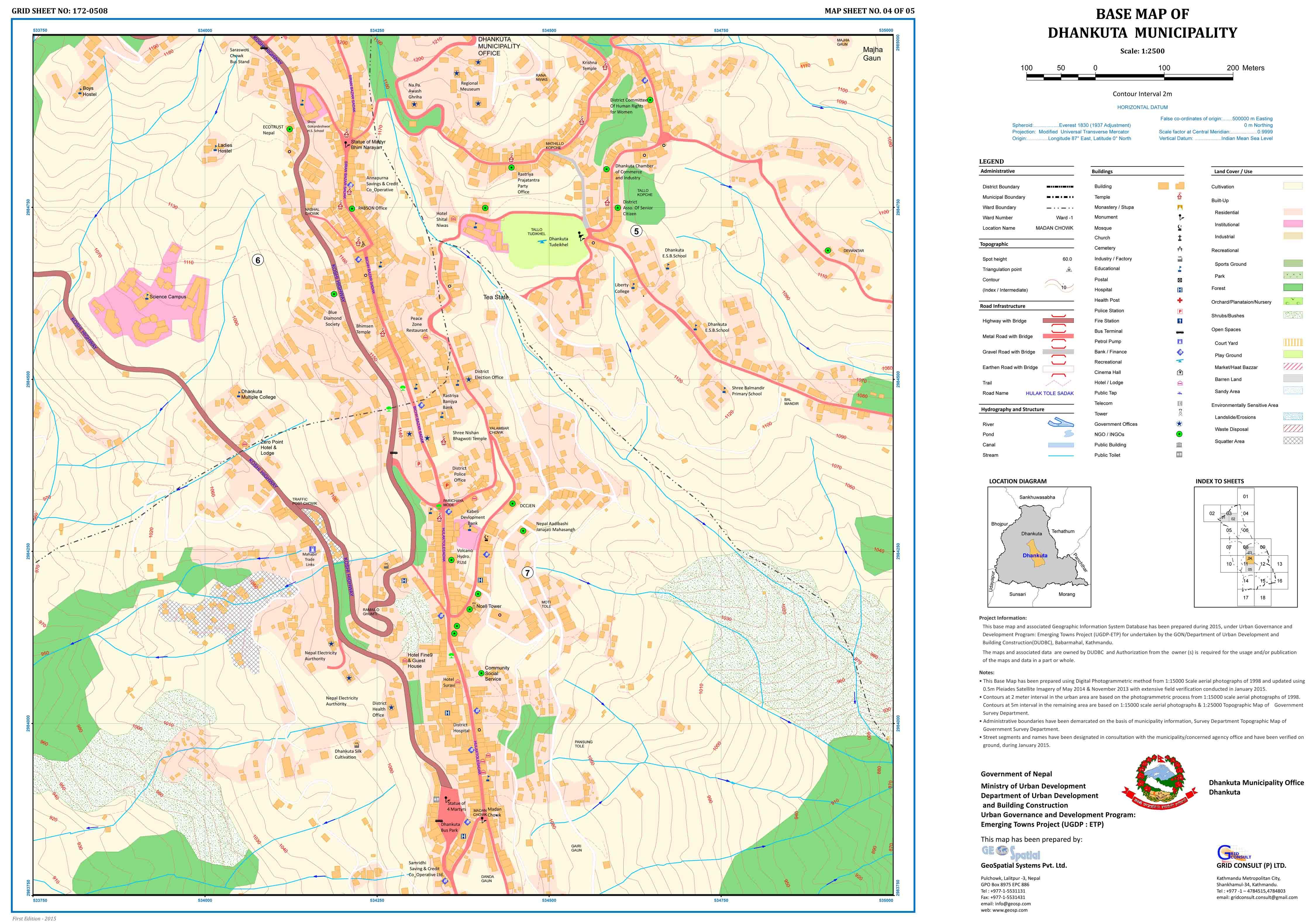 GIS Based Digital Base Map – GeoSpatial Systems Pvt. Ltd. on